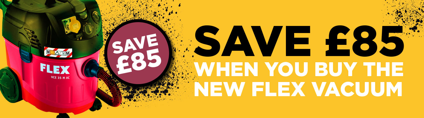 Save as you sand with our Flex Vac offer
