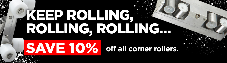 Roll back on Corner Rollers